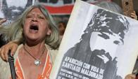 La desaparición de Maldonado sigue conmocionando a la sociedad argentina. Foto: AFP