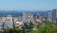 Cerrando el ránking está Portland, en el noroeste de EE.UU., donde el ingreso familiar llegó a US$ 68.700. Foto: Wikimedia Commons