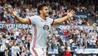 """""""Maxi"""" Gómez es uno de los goleadores de la Liga Española"""