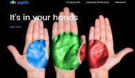 """Así es la página de la """"desconocida"""" empresa. Foto: www.yupido.com"""