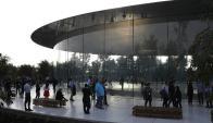 El Apple Park es una obra de Norman Foster. Foto: AFP