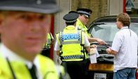La Policía sigue detrás de la pista de los terroristas. Foto: AFP
