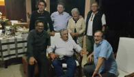 Mujica y Topolansky reunidos con las FARC durante el proceso de paz, a principios de 2016. Foto: @FARC_Epaz / Twitter.