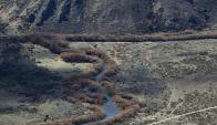 Pu Lof, la zona ocupada por los mapuches. Foto: La Nación.