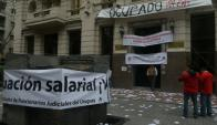 Funcionarios judiciales evaluan presentar una acción de inconstitucionalidad del artículo 15. Foto: Ariel Colmegna.