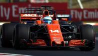 Cambio. Renault sustituirá a Honda en el team McLaren. Foto: Archivo