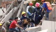 Terremoto en México. Foto: Reuters