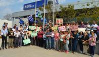 Vecinos de Rodó reclamaron contra cierre de oficinas públicas de la zona. Foto: D. Rojas