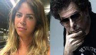 Marianela Mirra y Andrés Calamaro