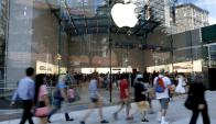 Apple Store en la avenida Broadway de Nueva York. Foto: EFE
