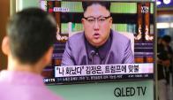 Kim Jong Un, dictador de Corea del Norte. Foto: AFP