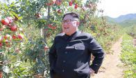 Kim Jong Un, dictador de Corea del Norte. Foto: AFP/ KCNA via KNS