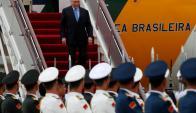 El presidente Michel Temer es asediado por acusaciones y denuncia una conspiración. Foto: AFP