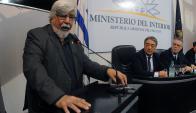 Ministro. Bonomi volvió a referirse a la violencia.