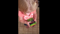 niña gameboy