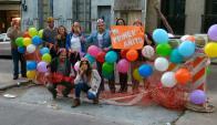 Vecinos celebraron un año del pozo de La Paz y Magallanes. Foto: @martinelgue / Twitter.