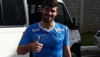 Gonzalo Latorre entrena separado del plantel de Cruzeiro y no juega