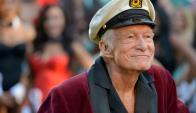 Hugh Hefner, creador de Playboy murió a los 91 años. Foto: AFP