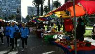 El movimiento llamó la atención de locales y turistas. Foto: Marcelo Bonjour