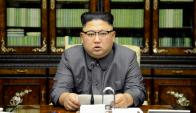 Kim Jong-un: ayer se refirió a Trump como un viejo lunático. Foto: Reuters