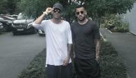 Neymar y Dani Alves