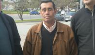 Hugo Leites, el peón que denunció una golpiza de su capataz. Foto: Francisco Flores.