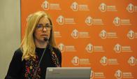 Marta Jara, presidenta de Ancap. Foto: Presidencia