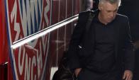 Carlo Ancelotti tuvo su salida del Bayern Munich. Foto: EFE