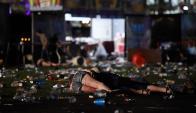Escenas de desesperación al ver la cantidad de víctimas entre muertos y heridos. Foto: AFP