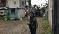 Carla Aguirre se encuentra ayudando en México. Foto: Gentileza Carla Aguirre