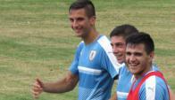 Rodrigo Bentancur trabajó por primera vez con la selección mayor