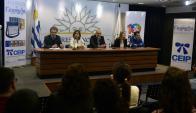 Autoridades celebraron los resultados del impacto positivo de las PAM en escolares. Foto: F. Ponzetto