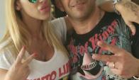 Mónica Farro y Juan Suris