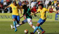 Bolivia vs. Brasil. Foto: AFP.