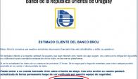 Circula correo electrónico falso del Banco República. Foto: Captura