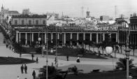 El demolido café La Giralda en donde se estrenó La Cumparsita sigue dando qué hablar y dio origen a un museo. Foto: archivo El País