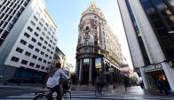 La nueva sede central de La Caixa en Valencia. Foto: AFP