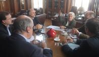 Topolansky, el lunes pasado se reunió con la oposición. Foto: Archivo El País