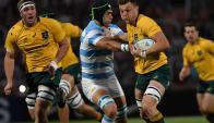Australia vs. Argentina. Foto: AFP.