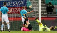 Eslovenia y Escocia empataron 2-2. Foto: Reuters