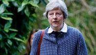 May: los últimos tropiezos políticos complican su continuidad. Foto: AFP