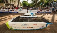 De la carrera participan más de 40 equipos de diversos países. Foto: EFE