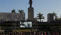 En Santa Clara se reunieron 70.000 en homenaje al Che Guevara. Foto: Reuters