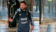 Lionel Messi. Foto: La Nación/GDA.