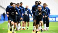 La selección de Francia en carrera hacia el Mundial de Rusia