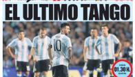 Mundo Deportivo también le entregó su primera página a Messi