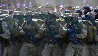 """""""El Ejército no debe realizar tareas permanentes de seguridad, dice el FA"""". Foto: F. Ponzetto"""