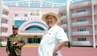 Las vacaciones de Kim Jong-un en Wonsan. Foto: Reuters