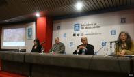 Conferencia de prensa sobre el hallazgo. Foto: Ariel Colmegna.