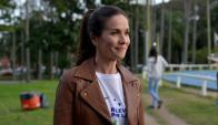 Natalia Oreiro, madrina de la fundación